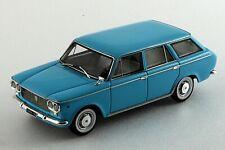 Fiat 1300 Familiare -Bleu- flanc blanc - Milena Rose - 1/43ème - #MR43041.c