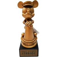 Disneyland Paris Disney Mickey Mouse Golden Award Ornament Figurine Gold Studios