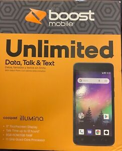 boost mobile Unlimited Data, Talk & Text (CP3310AGYABB)