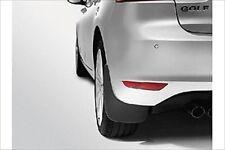 10-14 VW Volkswagen Golf MK6 GTI MK6 Front & Rear Splash Guards Set GENUINE OEM
