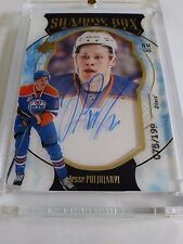 Jesse Puljujarvi 2016-17 SPx Rookie Shadow Box Auto /199 Oilers