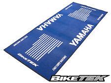 YAMAHA YZF YZ moto bleu FZ Garage Atelier Support Antidérapant Tapis Tapis pit