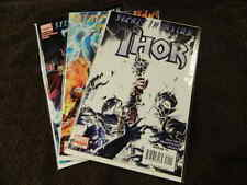 "2008 MARVEL Comics THOR ""Secret Invasion"" #1-3 Complete Series Set - VF/NM"