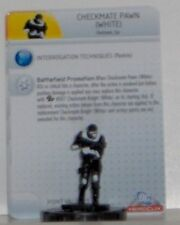 Brave and the Bold Heroclix 006 Checkmate Pawn White