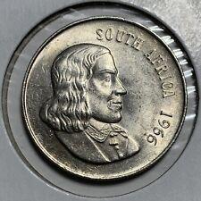 SILVER - WORLD Coin - 1966 South Africa 1 Rand - World Silver Coin