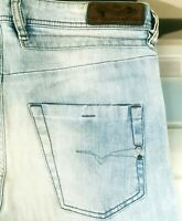 *HOT Men DIESEL BELTHER 814D Slim TAPERED LIGHT STRETCH Jeans 31 x32 (Fit 31x31)
