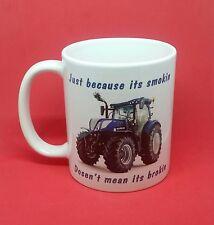 rude funny New holland tractor mug cheeky agricultural farming coffee tea land..