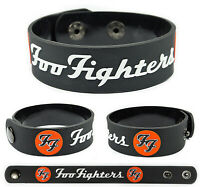 Foo Fighters wristband rubber bracelet