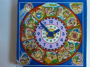 Vinatge Glo Friends 25 Piece Jigsaw Clock Puzzle -Arrow 100% COMPLETE (475)