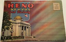 Vintage set of 18 postcards of Reno Nevada and vicinity from the 1930s
