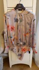Zara Floral Bodysuit Size large BNWT