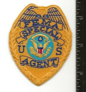 Federal Emergency Management Agency, Special Agent, very rare