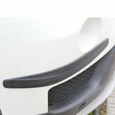 2x Accessories Car Bumper Protector Corner Carbon Fiber Rubber Guard Scratch