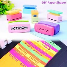 Paper Cutter Printing Border Punch Paper Edger Scrapbook Craft Card Making DIY