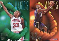 1994-95 Hoops Magic's All-Rookies #AR-3 Grant Hill & AR-1 GLENN ROBINSON