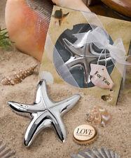 Beach Starfish Bottle Opener- Wedding, Bridal Shower, Anniversary Favor