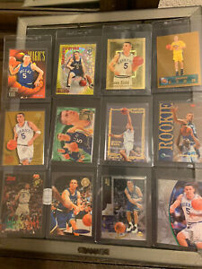 (12) LOT Jason Kidd 1994-95 Rookie RC Gold Refractor SSP Rare Inserts HOF LOOK