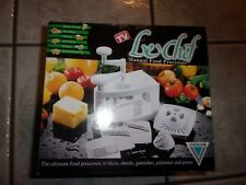 LE CHEF MANUAL FOOD PROCESSOR AND CHOPPER (AS SEEN ON TV)