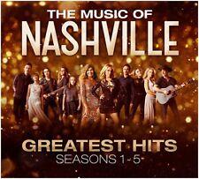 The Music of Nashville - Greatesrt Hits Seasons 1-5 - New 3CD Album - 13th Oct