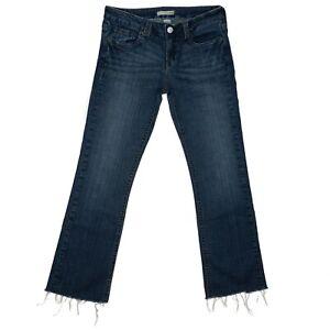 Refuge Denim Bootcut Size 9 Juniors Womens Blue Jeans Mid High Rise Stretch
