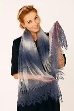 Russian Authentic Original New Lace Knitted Shawl SCARF (PASHMINA)
