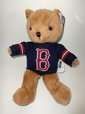 """Boston Red Sox 14"""" Super Soft Plush Teddy Bear With Team Sweater"""