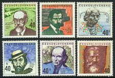Czechoslovakia 1819-1824,MNH.Famous People:Sladkovic,Kral,Hudecek,Bilek,1972