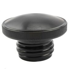 Blk Screw Fuel Gas Cap Tank Cover For Harley Softail Dyna Sportster XL 883 1200