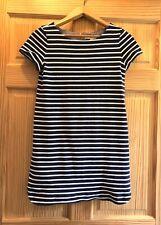 Ann Taylor Loft Striped Dress Size Small Navy/ White