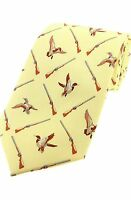 Ducks and Shotguns Shooting Tie Ideal game shooters Gift SILK CLEARANCE