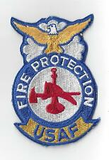 U.S. AIR FORCE PATCH -  USAF FIRE PROTECTION