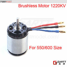 Gartt 1220KV 2100W Brushless Motor For 550/ 600 Align Trex RC Helicopter