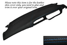 BLUE STITCHING TOP DASH DASHBOARD LEATHER COVER FITS RENAULT MEGANE MK1 96-03