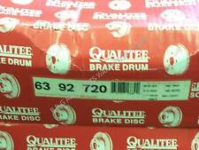 NOS Qualitee D92720 Rear Brake Drum Set fits Ford E350 F250 Econoline Pickup