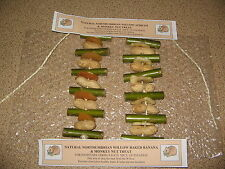 HAMSTER/GUINEA PIG ETC 2PK HANDMADE WILLOW, BANANA,APRICOT & MONKEY NUT TREATS