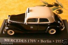MERCEDES BENZ 170V TAXI BERLIN DEUTSCHLAND 1952 1/43
