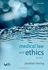 Medical Law and Ethics by Herring, Jonathan Book The Fast Free Shipping