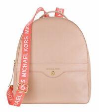 Michael Kors Blush Pink DESIGNER Backpack With Sport Straps