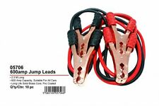 JAK TOOLS 600amp JUMP LEADS SUITABLE FOR ALL CARS 2.5M BATTERY JUMPER BOOSTER