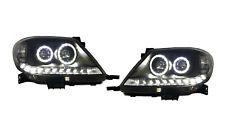 *LED ANGEL EYES* ALTEZZA HEAD LIGHT LAMP suit TOYOTA HILUX VIGO SR5 2005 - 2011