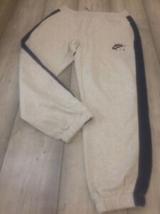 NIKE AIR JOGGERS SWEAT PANTS TRACKSUIT BOTTOMS SIZE LARGE GREY