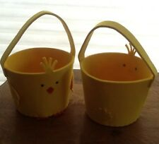 tag trade associates group Yellow Chick Easter Basket - Free Shipping