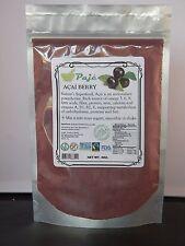 ACAI Assai powder berry 4oz 1/4lb Superfood anti-age protein detox fib OM3 Vigor
