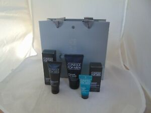 Clinique For Men Essential Skin Set,Charcoal Face Wash, face Moisure & Hydrator