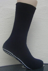 1 Pair ABS Stopper Socks With Black Blue Grey 35 To 42