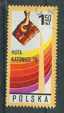 Polen Briefmarken 1976 Großgießerei Kattowitz Mi.Nr.2471