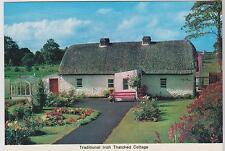Postcard Ireland Traditional Irish Thatcheg Cottage