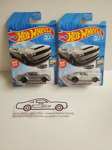 Hot Wheels Zamac 2018 Dodge Challenger SRT Demon 8/10 - Lot of 2