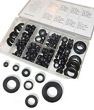 180pc Rubber Grommet Assortment Set Firewall Wiring Electrical Wire Gasket Kit