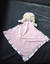 Baby Gund Doll Pink Satin Trim Comforter. Kristin. Blanket.